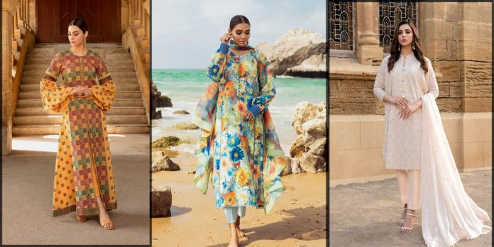 Latest and classy Bareeze Summer Collection
