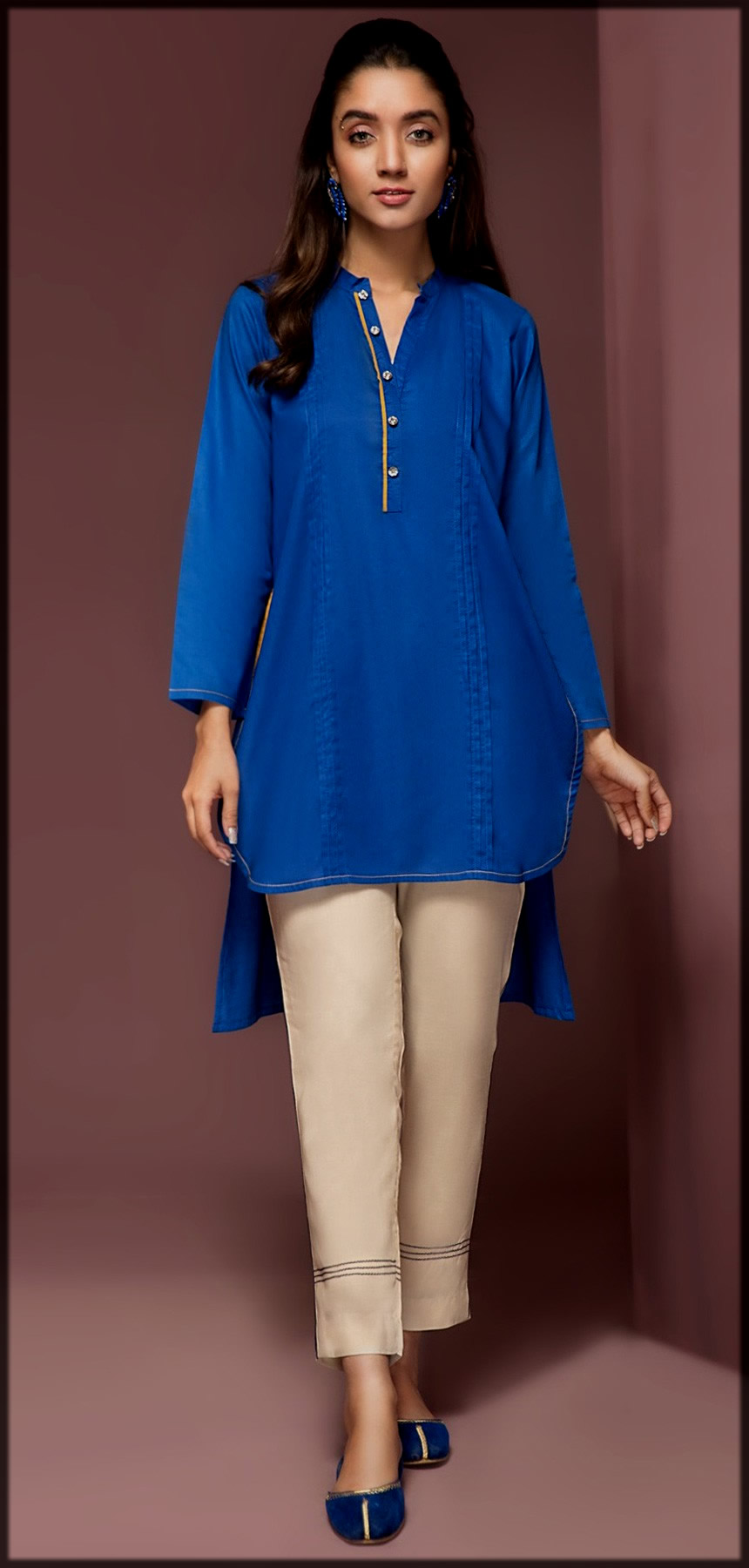 Origins Summer Collection plain kurti