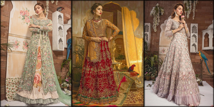 Zahra Ahmad Bridal Collection 2020 In Flying Colors
