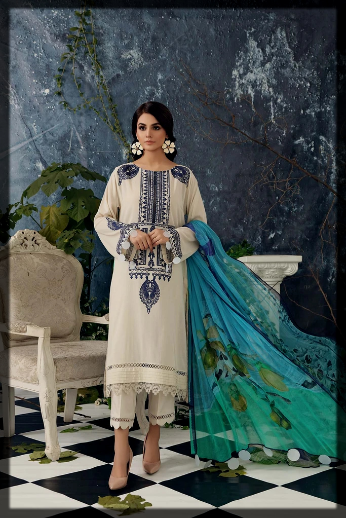 charizma summer lawn collection for women