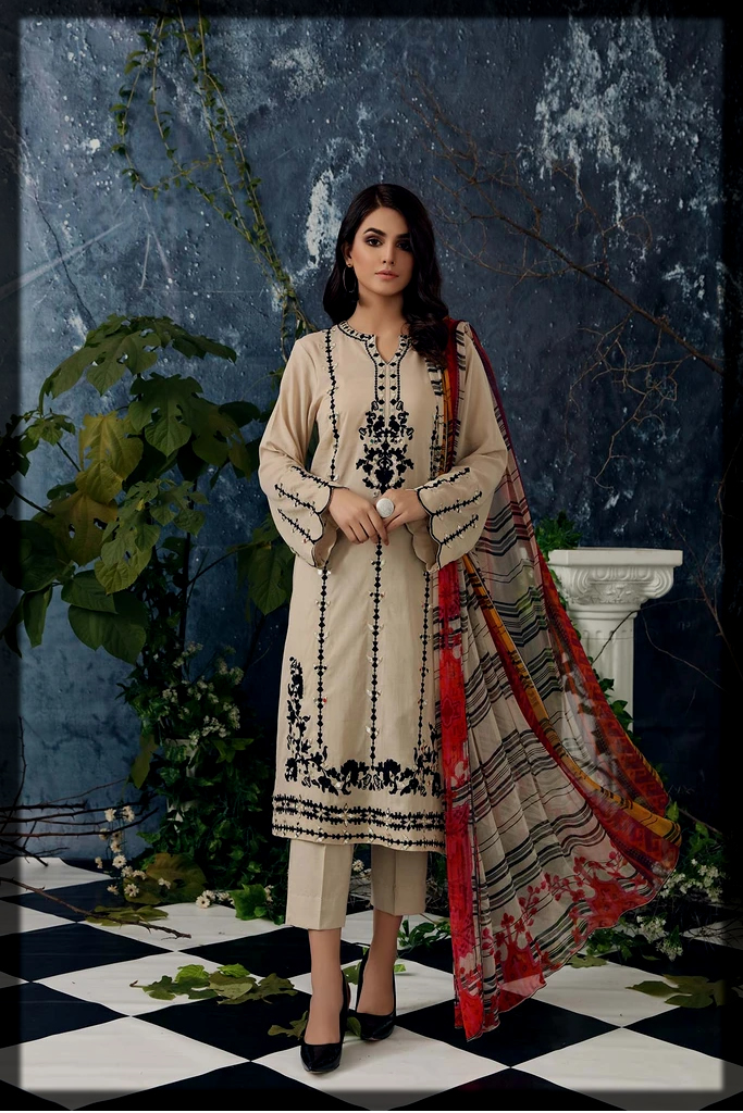 charizma summer swiss lawn collection for women