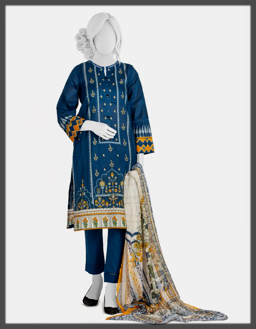 classy J. Stitched Suits Collection For Women