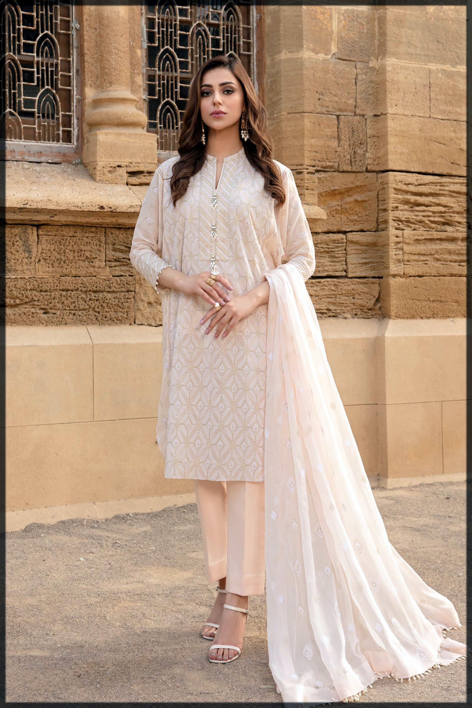 classy formal dress by bareeze