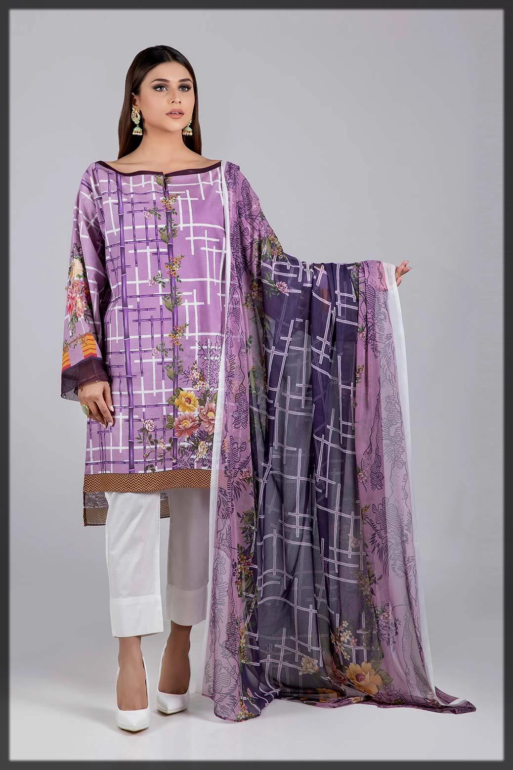 classy purple bonanza satragi summer collection