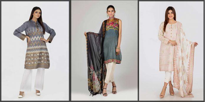 latest Bonanza Satrangi Summer Collection