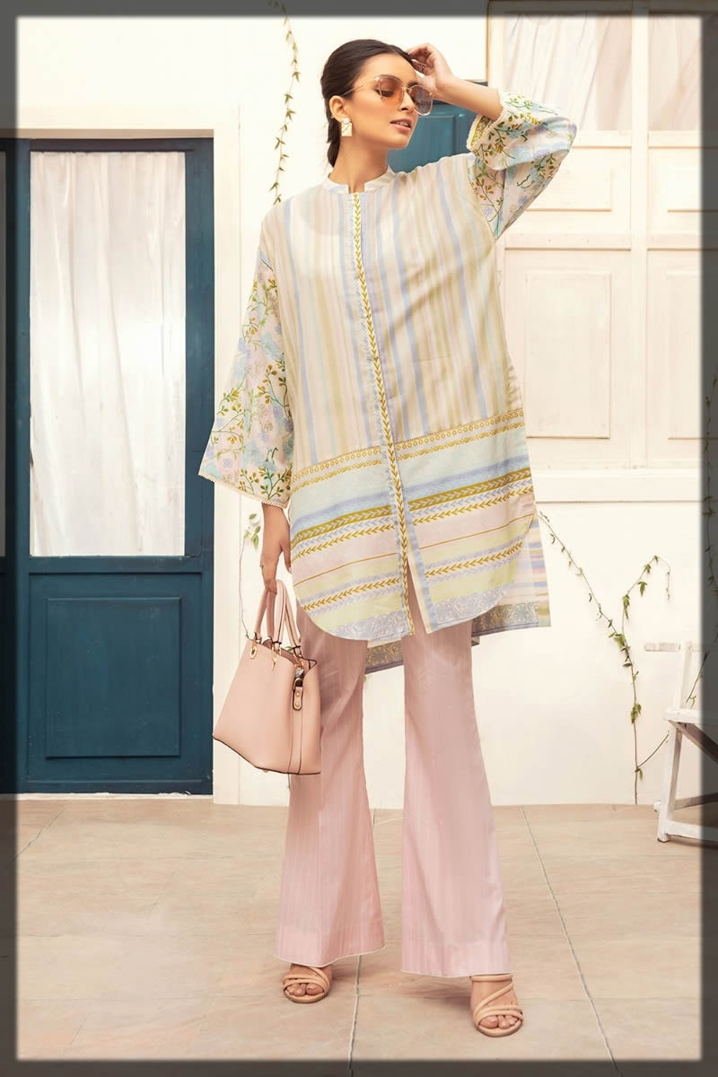 lining lawn suit for girls
