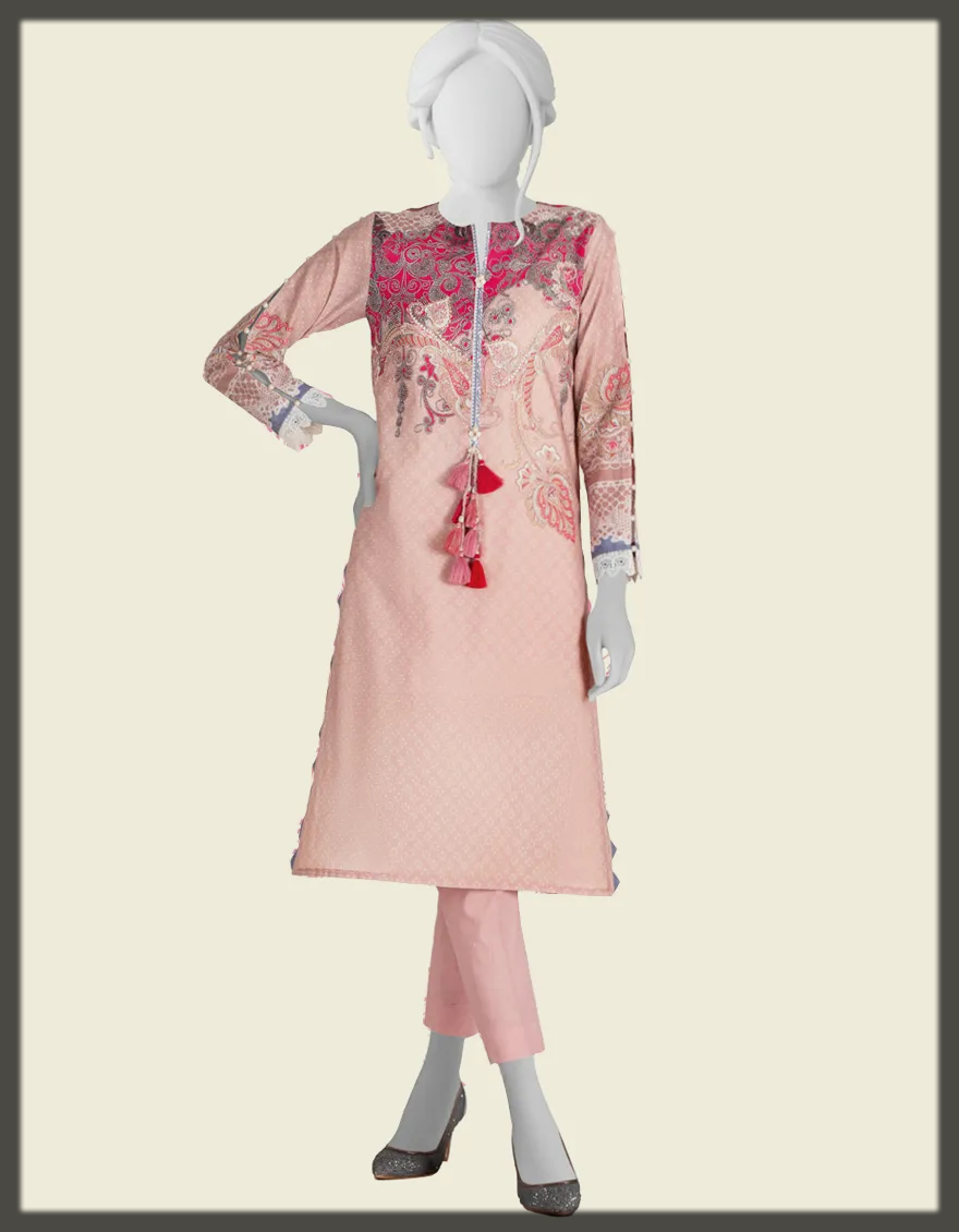 lovely pink summer suit for women