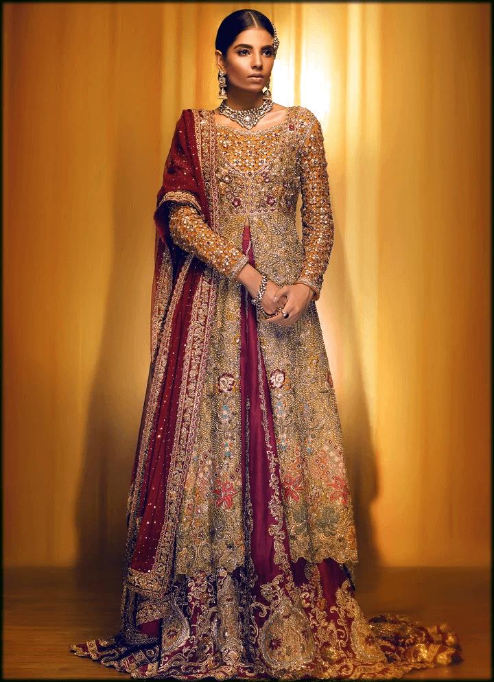 most stunning barat dress