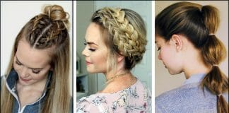 Easy Eid Hairstyles For Girls For Short And Long Hair 2021