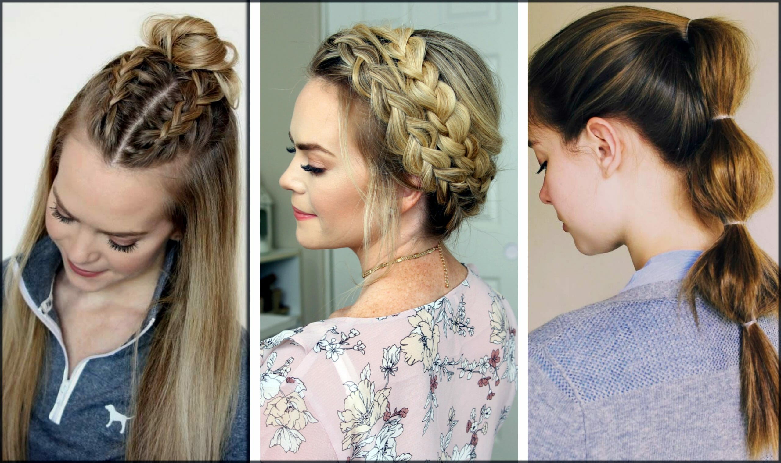 Easy Eid Hairstyles For Girls For Short And Long Hair 11