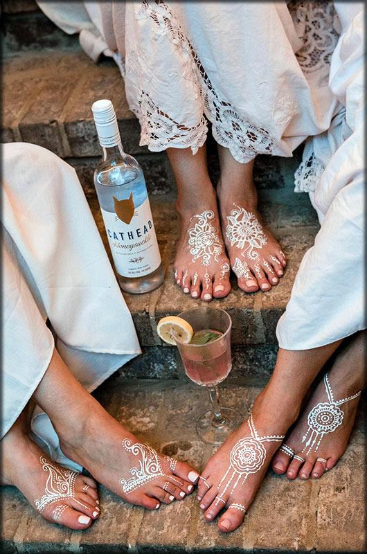 stunning feet mehndi designs