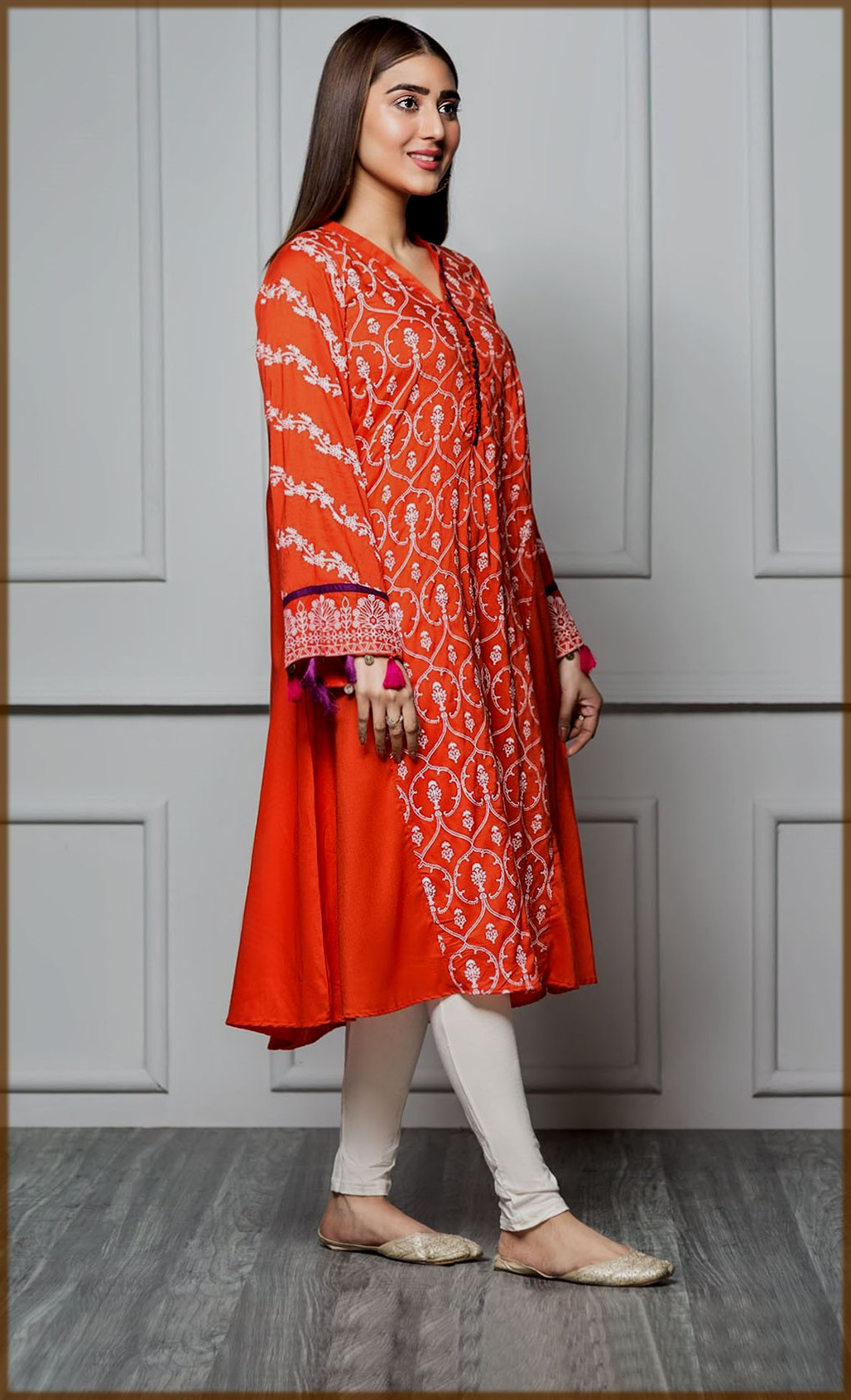 stunning printed kurti for ladies