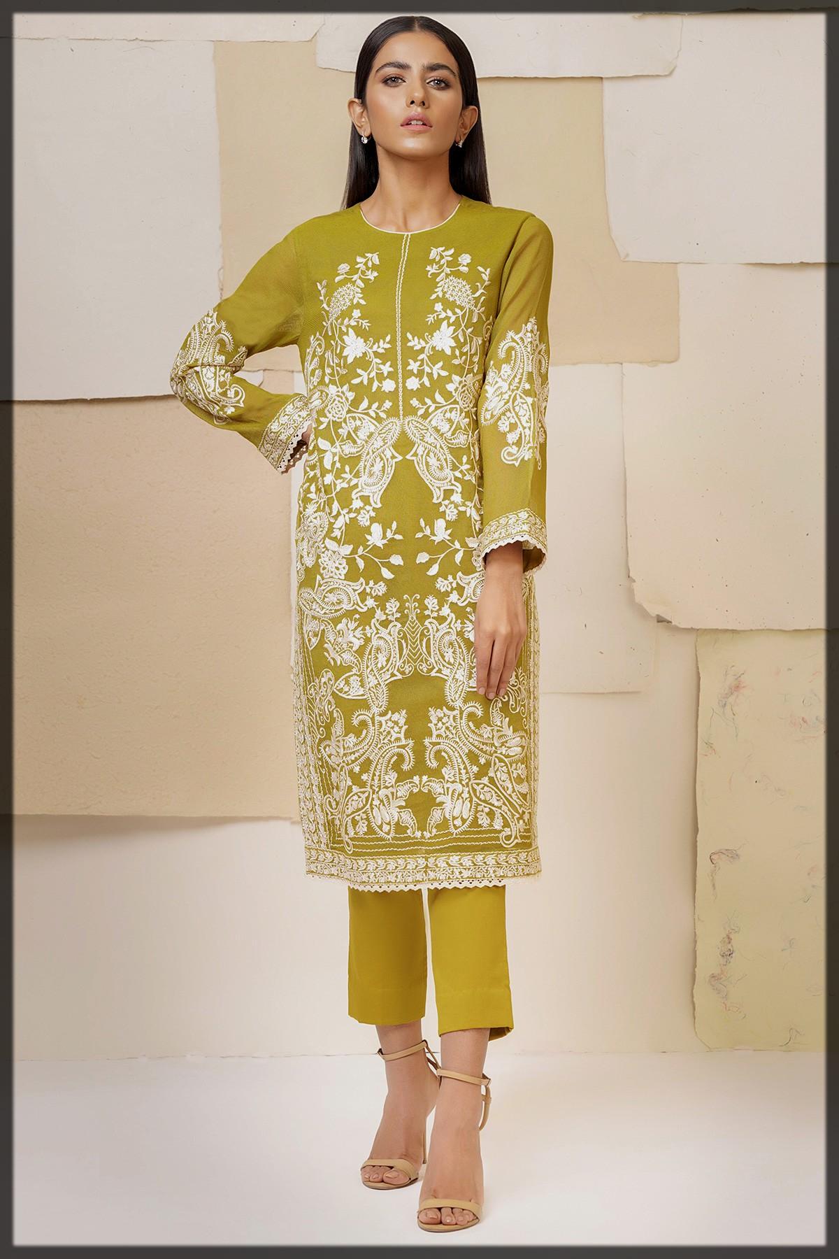 2 Pc Cotton Net Formal Suit