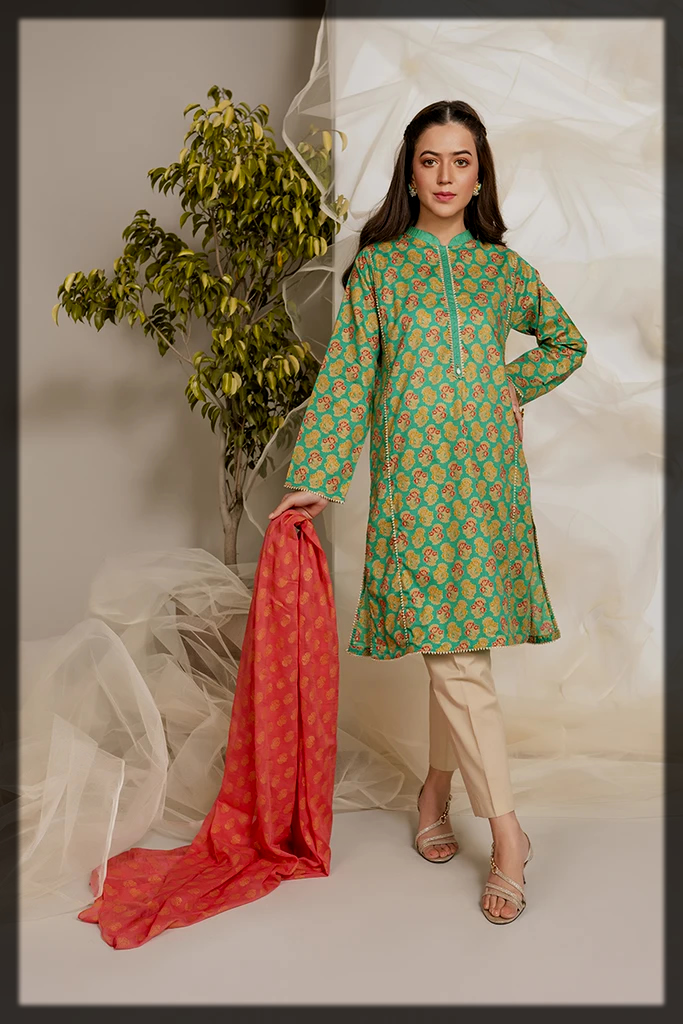 2pc shirt and dupatta dress by chinyere