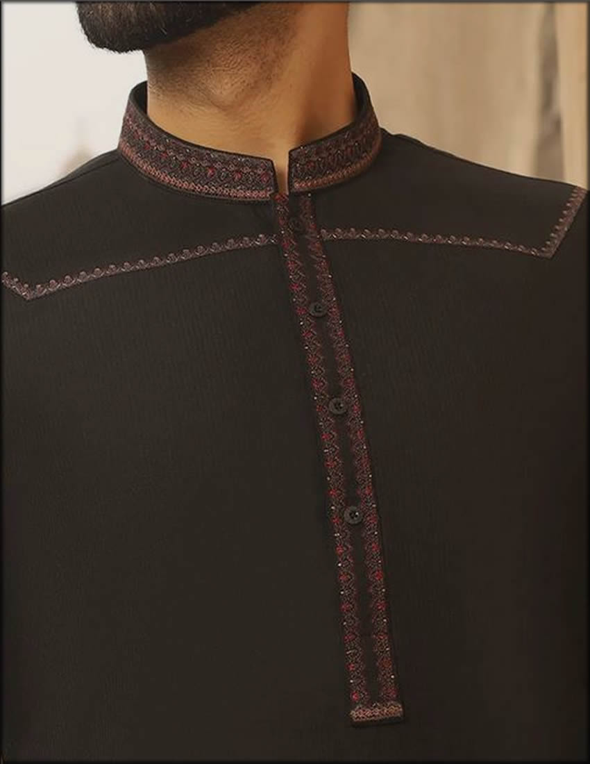 Blended Formal Menswear By Junaid Jamshed