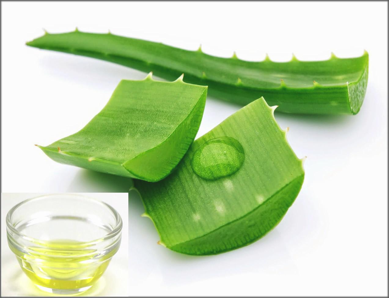 Castor Oil And Aloe Vera Mixture