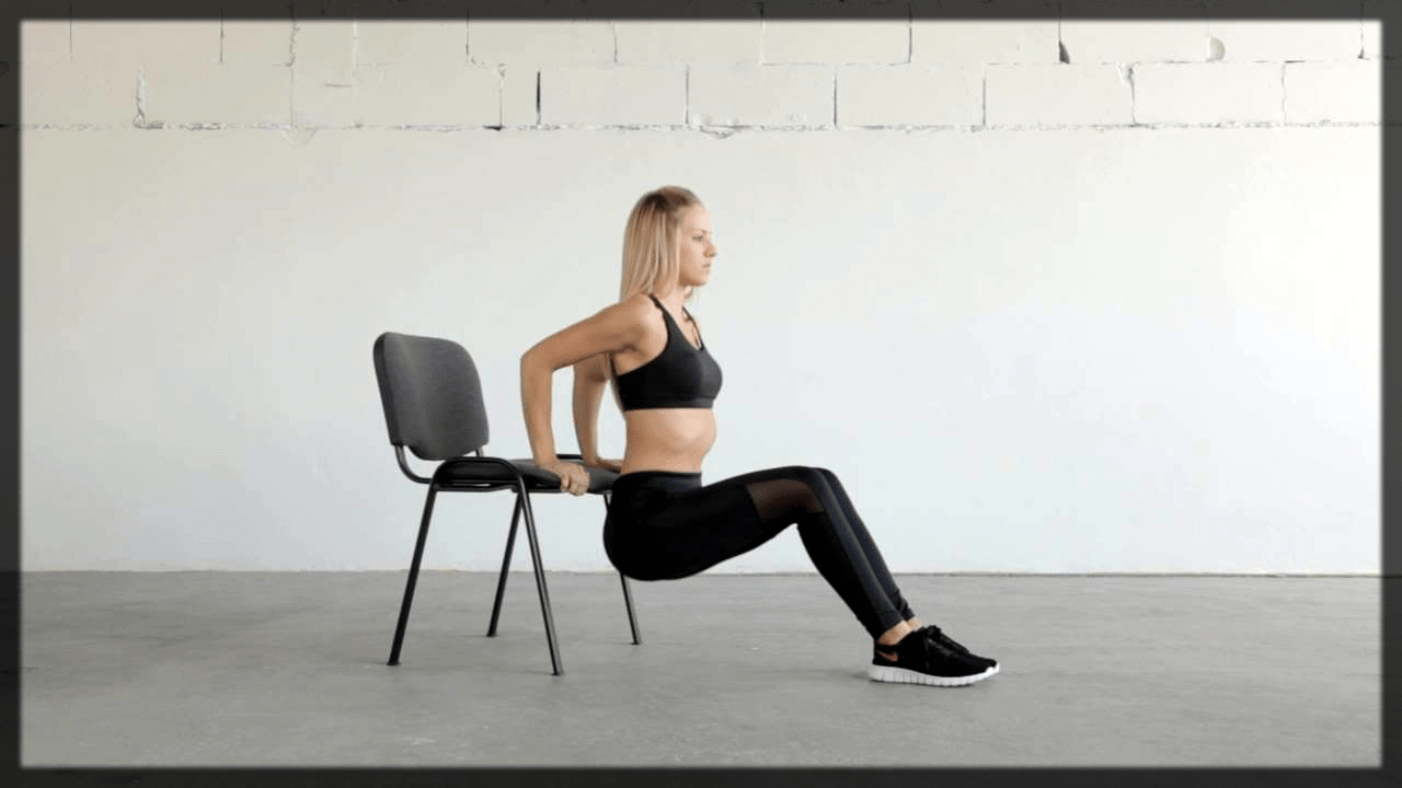 DO Chair Dips Exercise