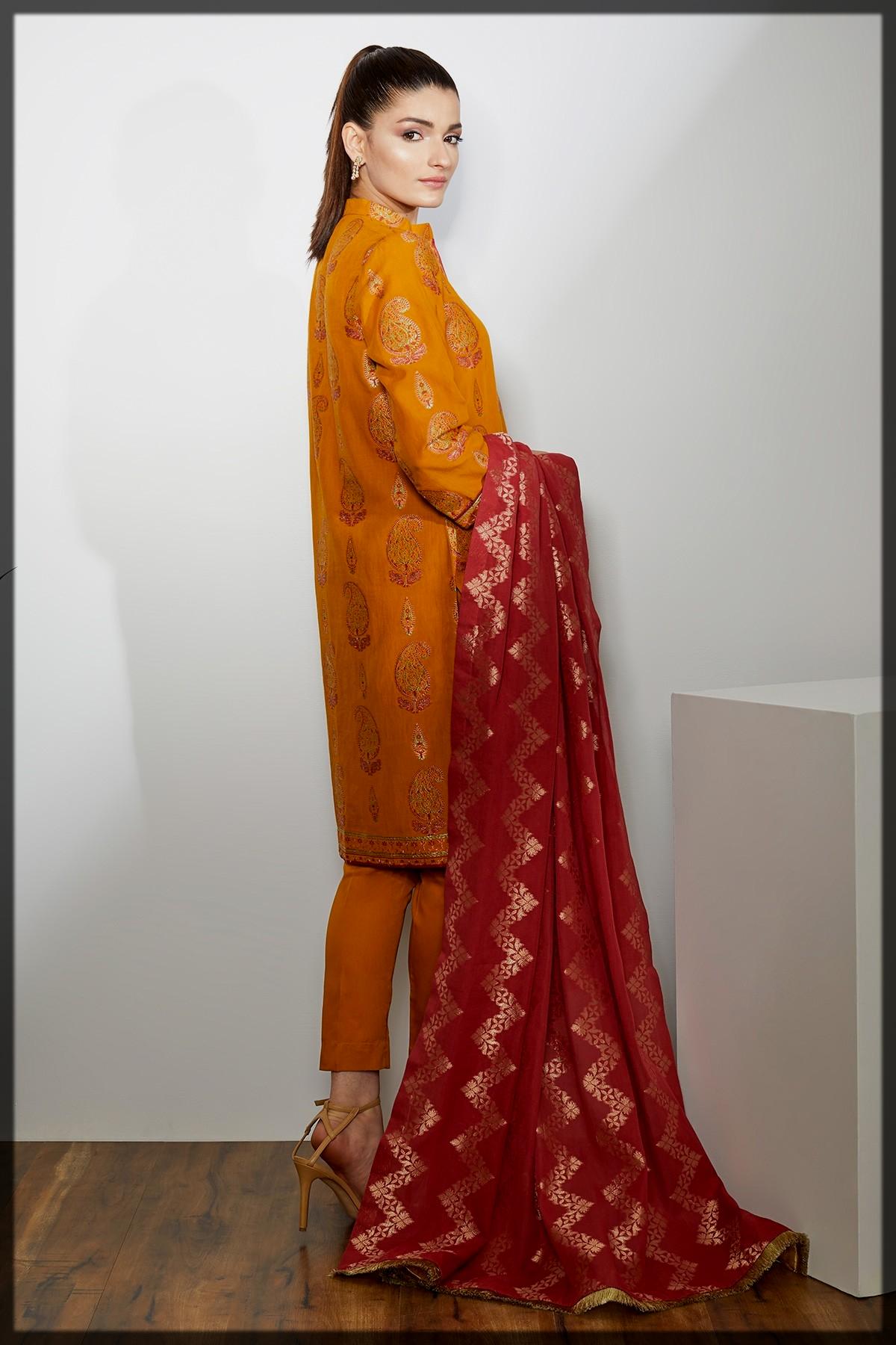Dazzling Alkaram Studio stitched Eid Collection
