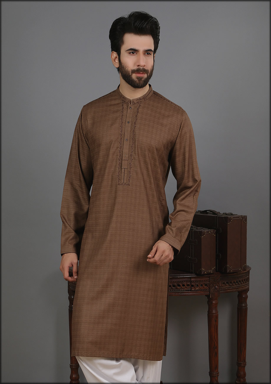 Dead Brown Edenrobe Kurta Collection