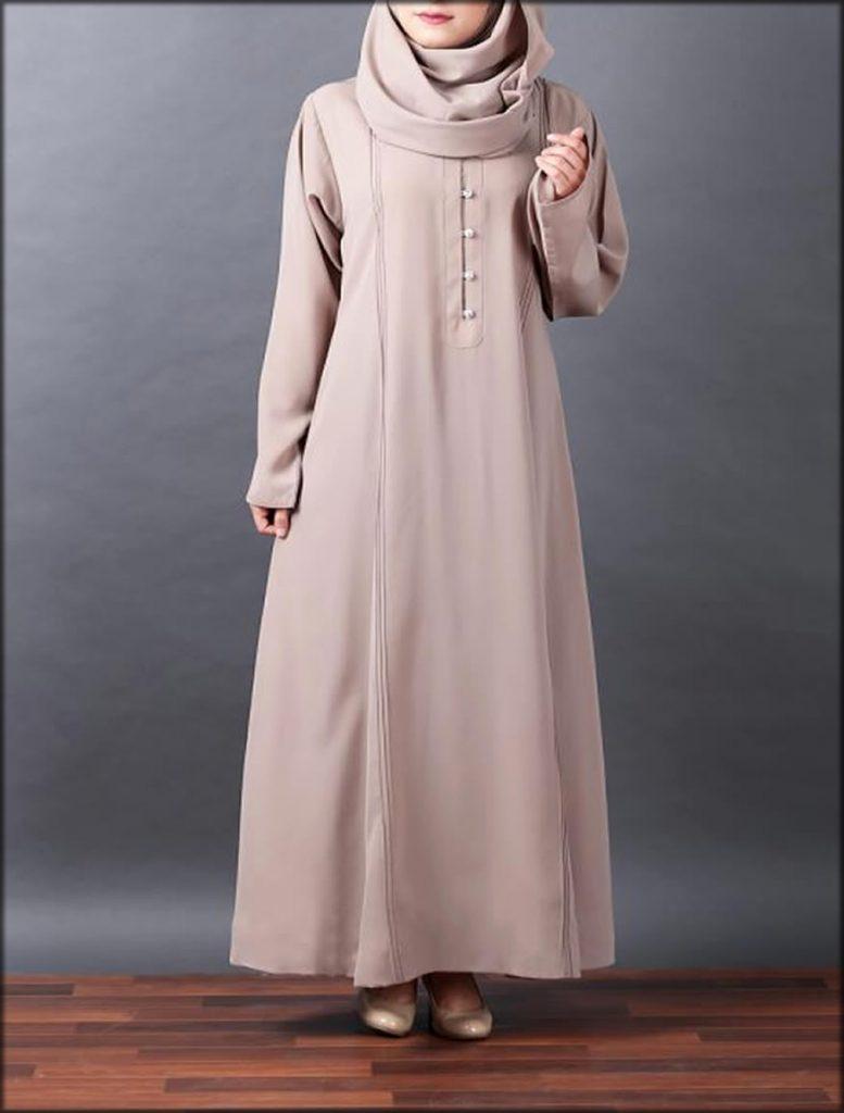 Double Stitched Women Wear Abaya