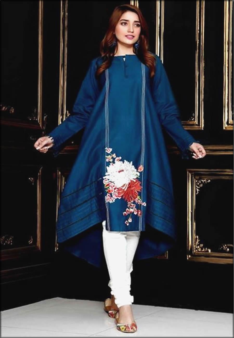 Elegant Blue Kurta For Women