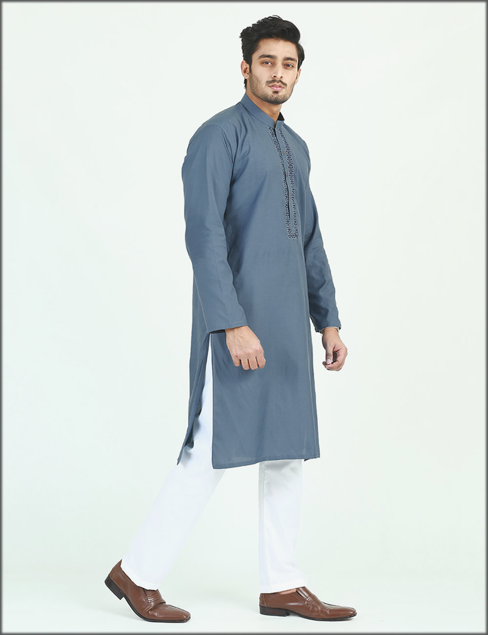 Embroidered Kurta For Men