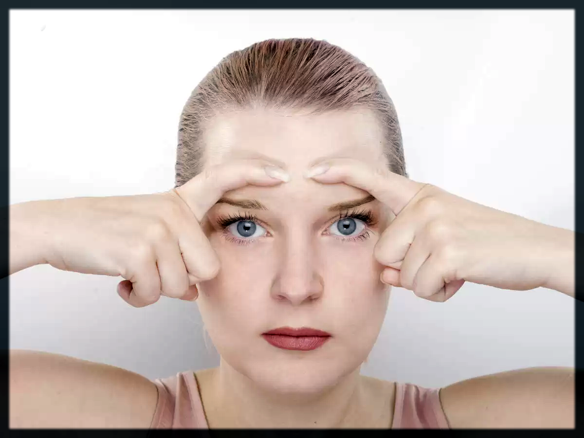 Face Exercises to Slim Face Eye Focus