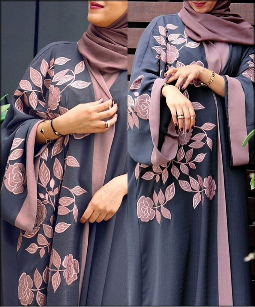 Floray Style Open Gown