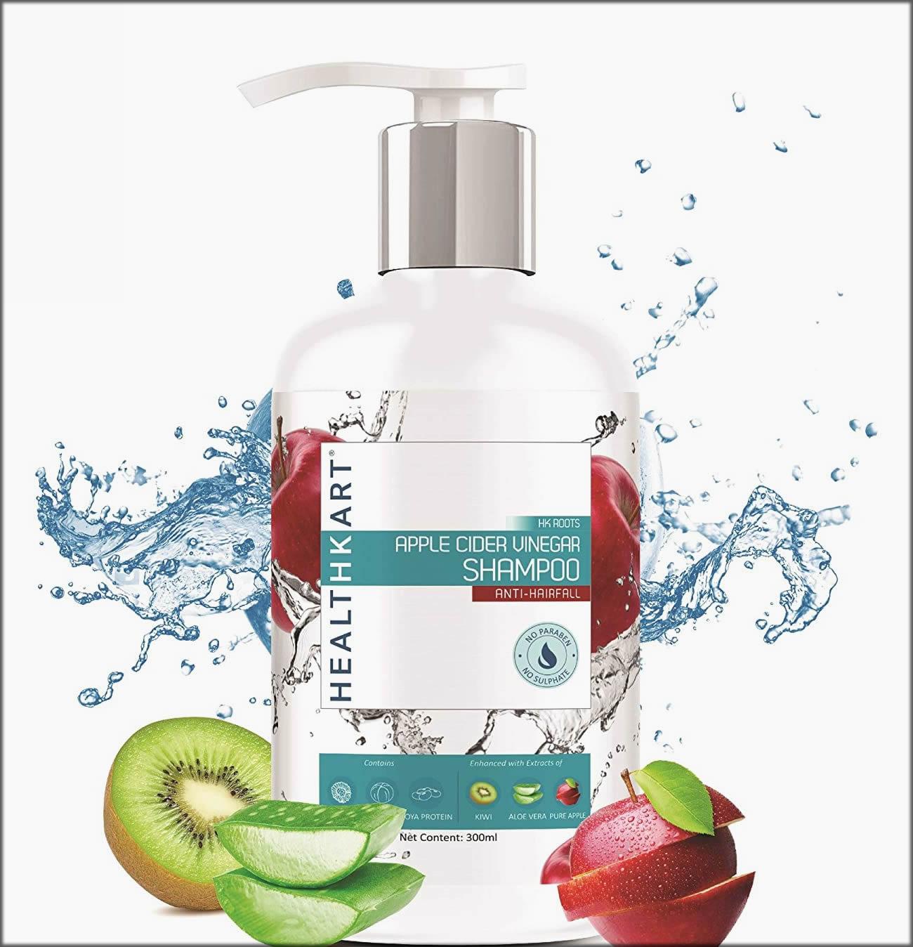 Healithkart Apple Ciber Uinegar Anti Hairfall Shampoo