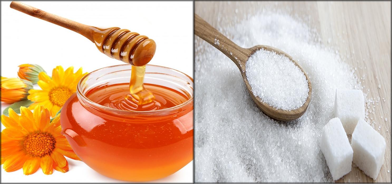 Honey And Sugar Mixture
