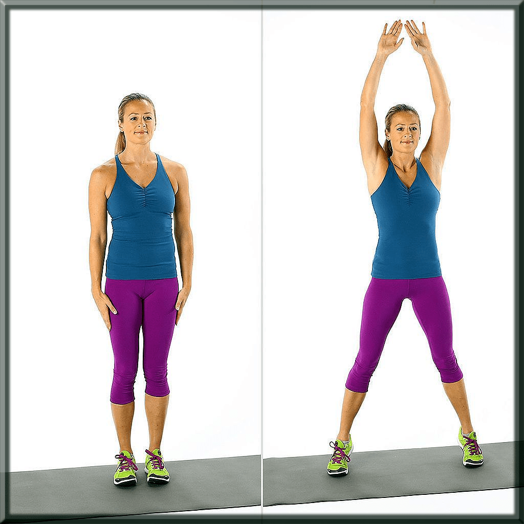How To Get Rid Of Arm Fat Jumping Jacks