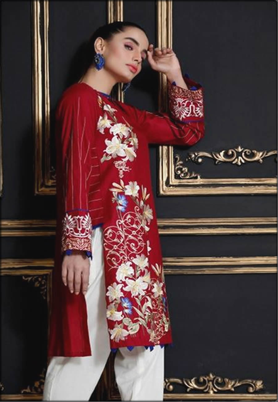 Johar Collection In Red