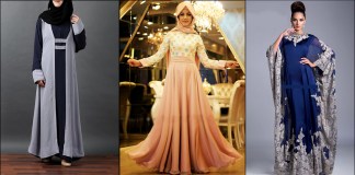 Latest Fashion Abaya Designs and Gowns Collection 2021 in Pakistan