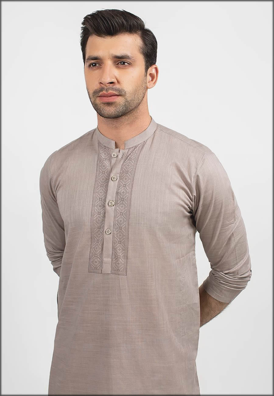 Latest Fashion Brown Kurta