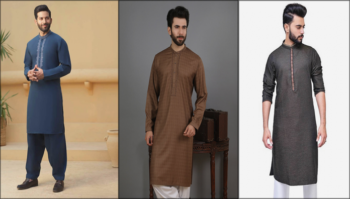 Latest Kurta Designs For Men 2020