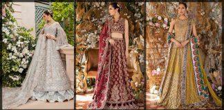 Tena Durrani Bridal Collection 2021 [Wedding Maxi & Lehenga Dresses]