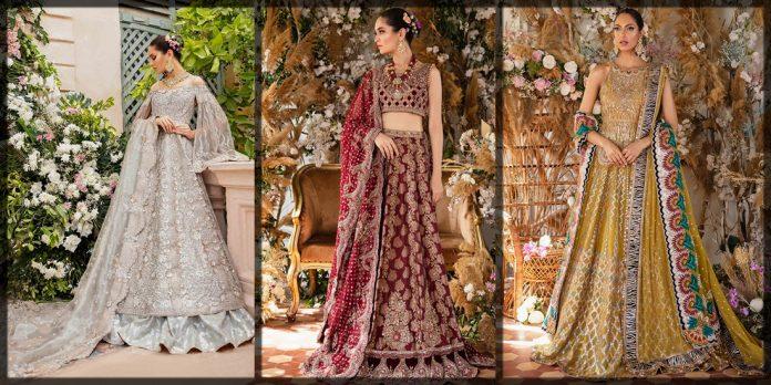 Latest and classical Tena Durrani Bridal Collection