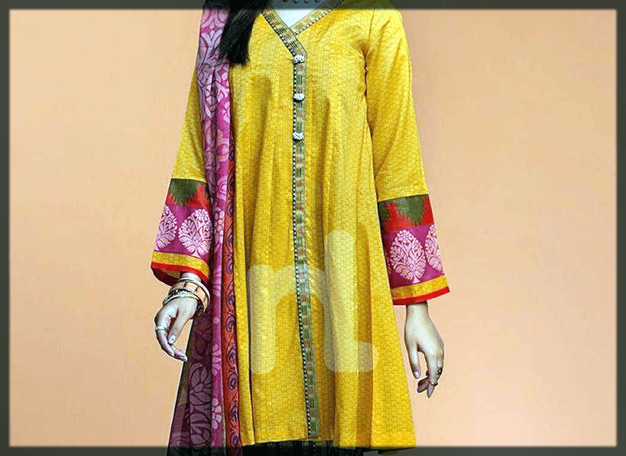 Lawn Dresses Stitching Designs collection