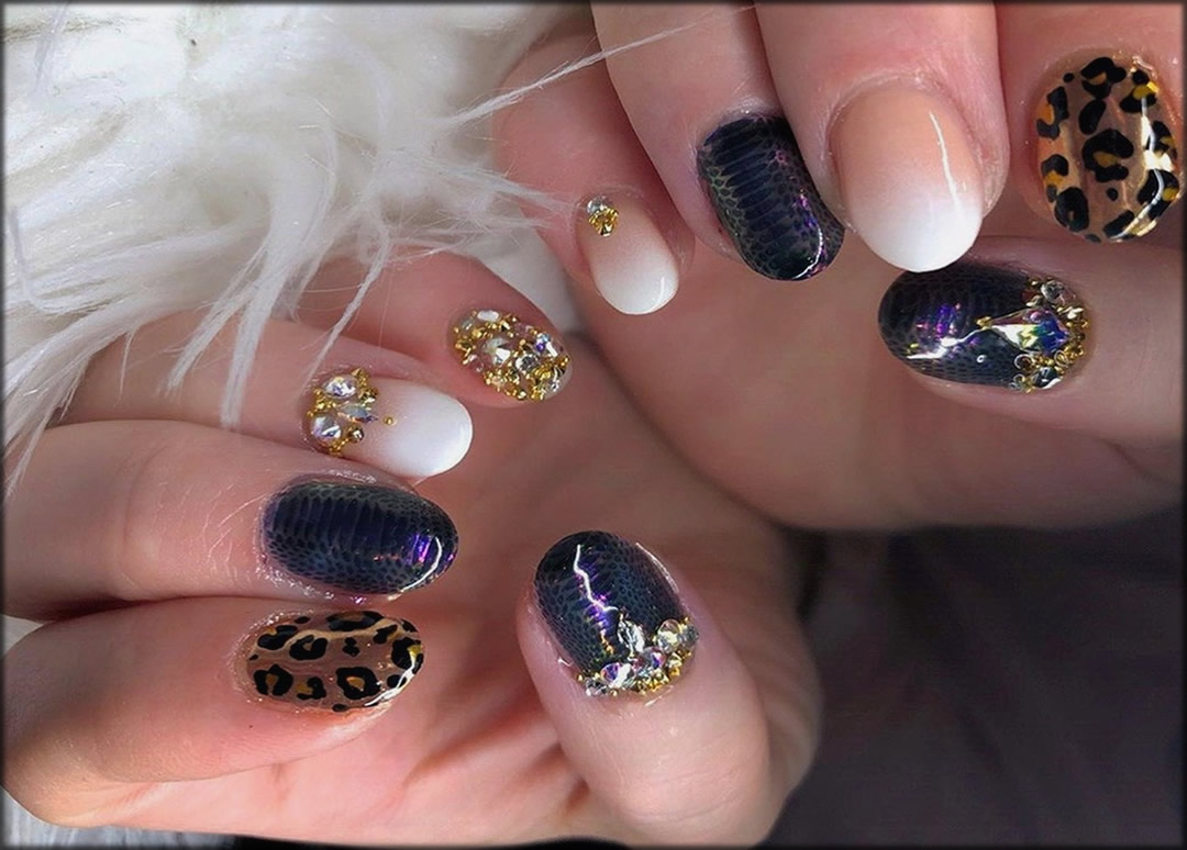 Leopard Nail Art Ideas