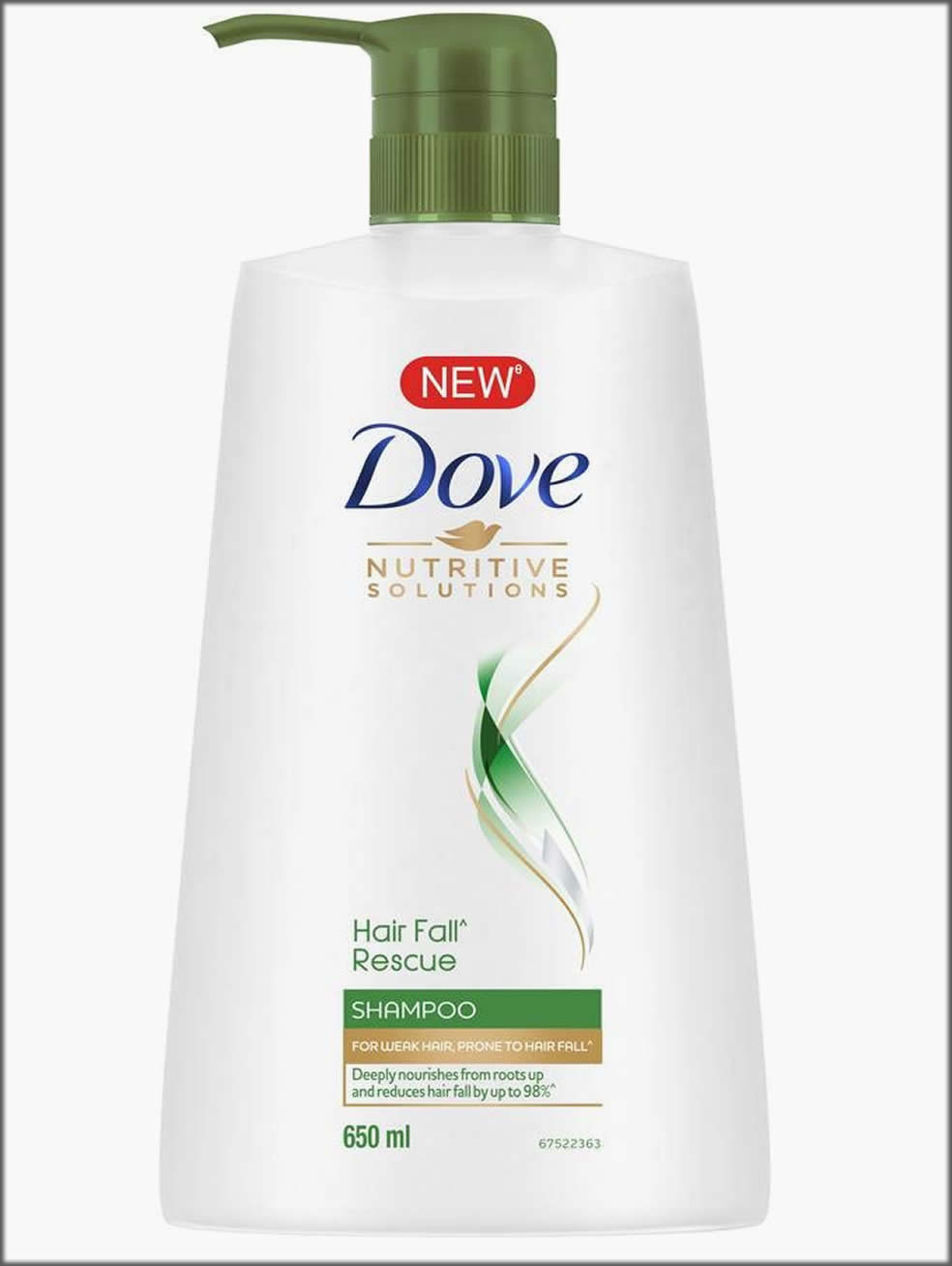 New Dove Hair Fall Rescue Shampoo