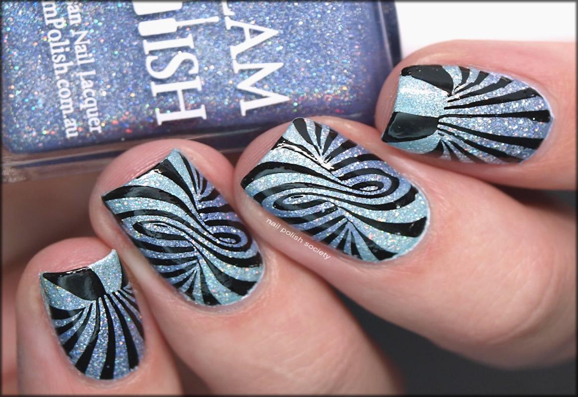 Optical Illusion Nail Art