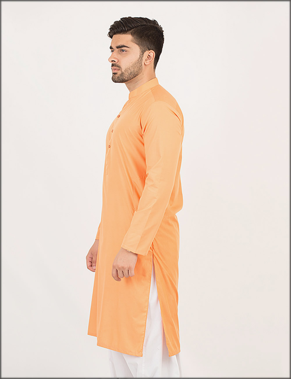 Orange Kurta For Men