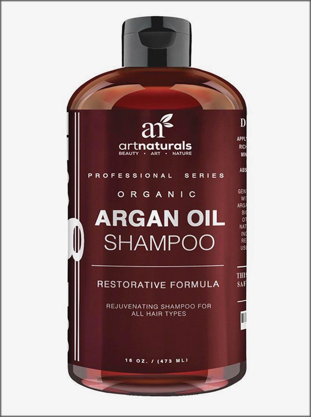 Organic Argan Oil Shampoo Restorative Formula