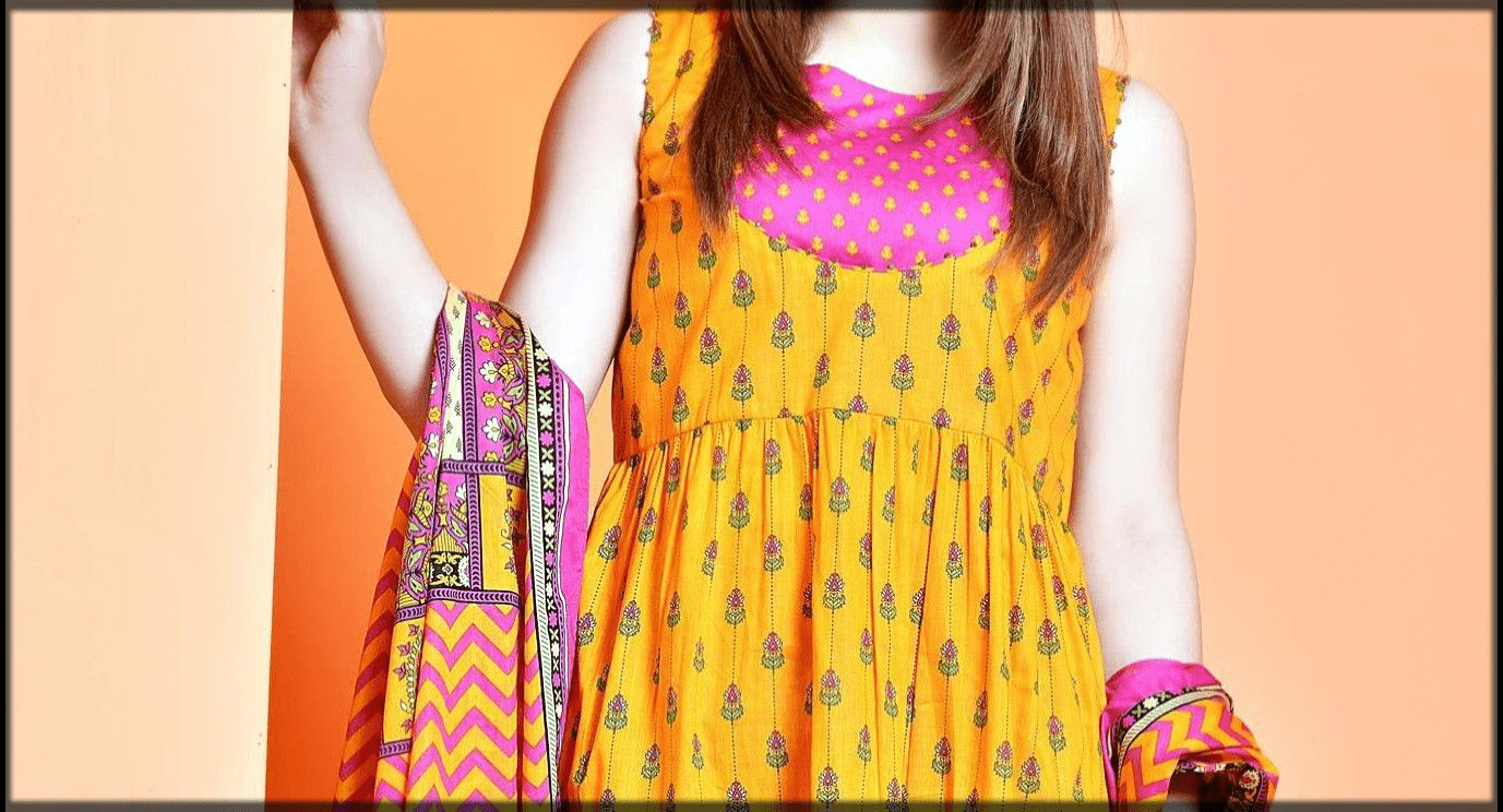 Pakistan Lawn Dresses Stitching Designs for teenagers
