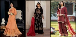 Pakistani Eid Dresses 2021 Collection For Women By Top Brands
