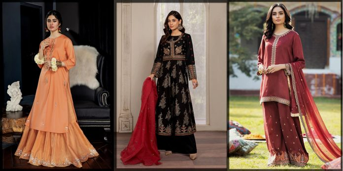 Pakistani Eid Dresses Collection For Women By Top Brands