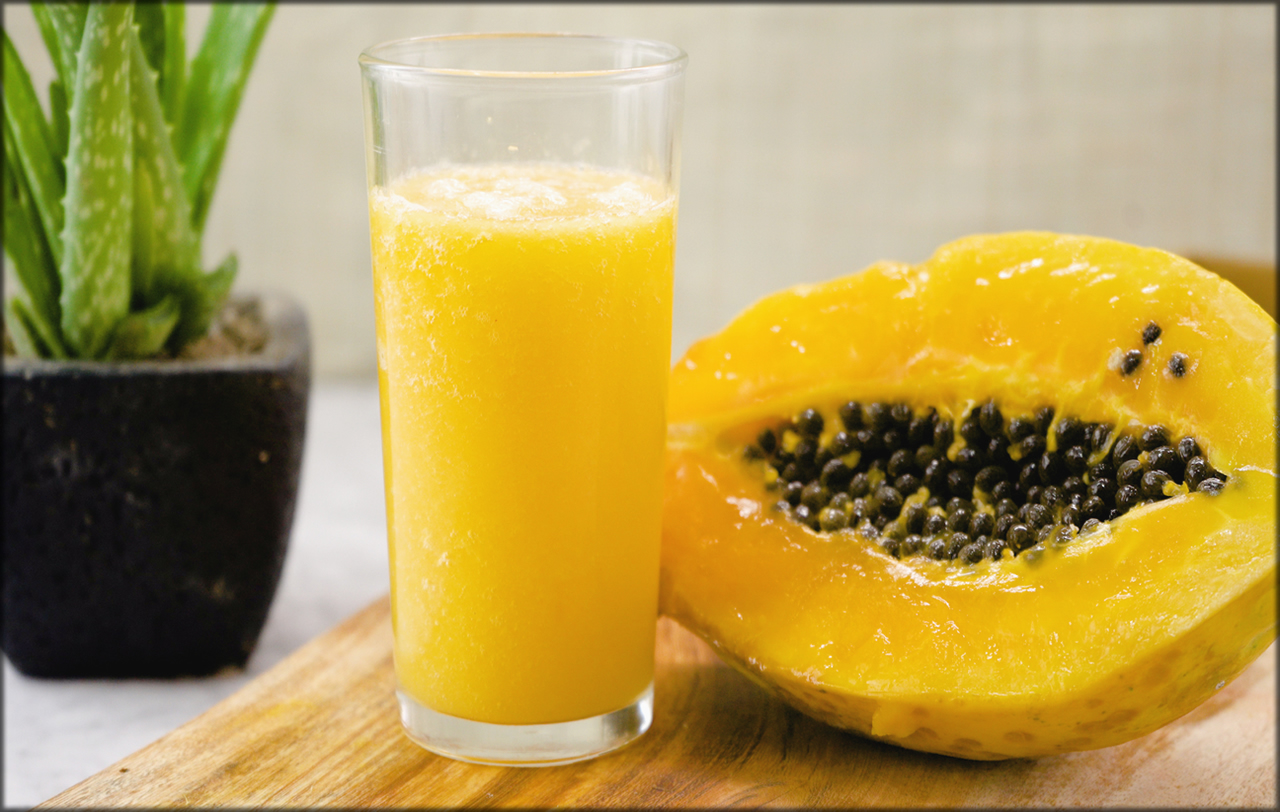 Pawpaw Pulp for long and shiny hair