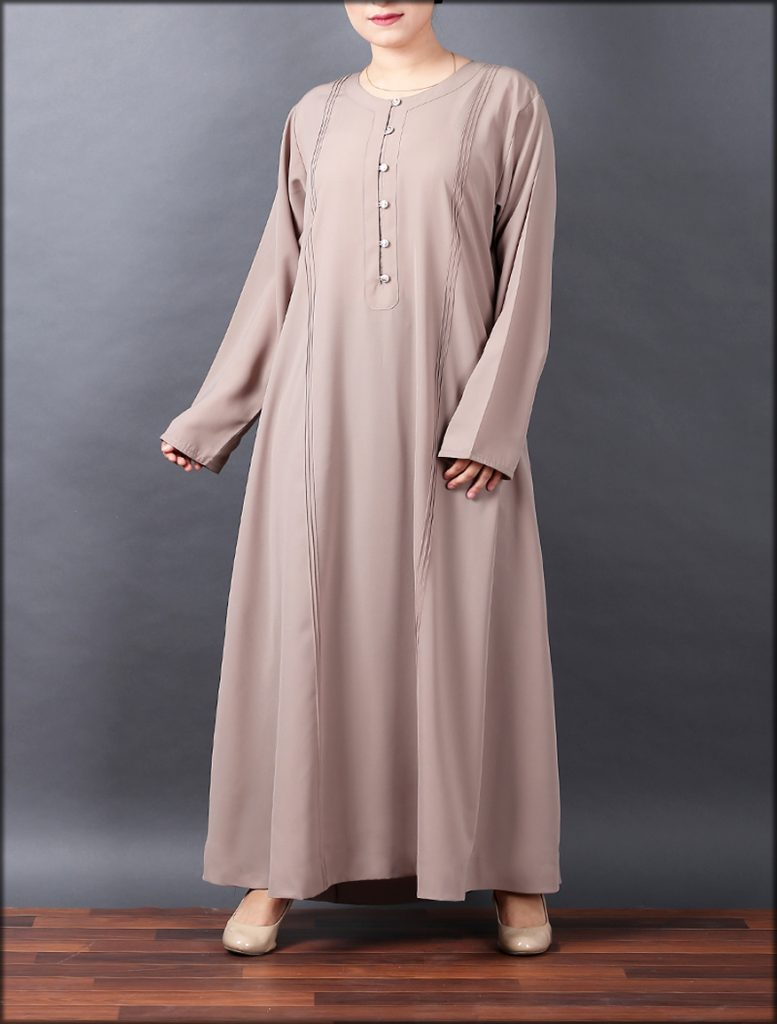 Stylish Easy To Wear Tea Pink Gown