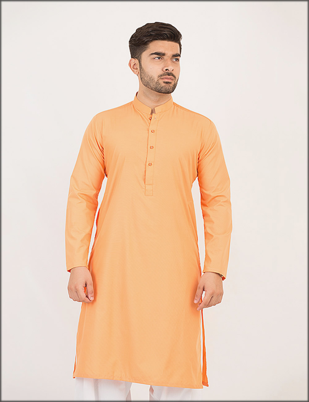 Stylish Orange Kurta