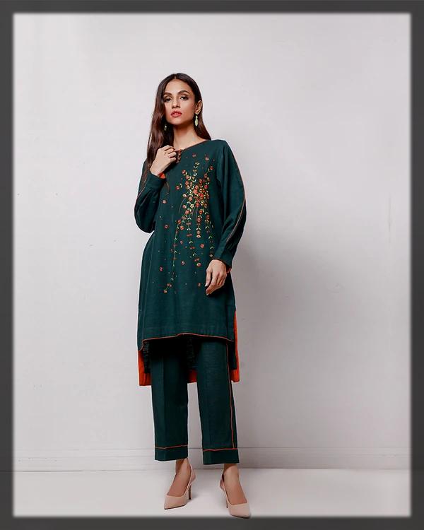 Summer Karandi 2 Pcs suit
